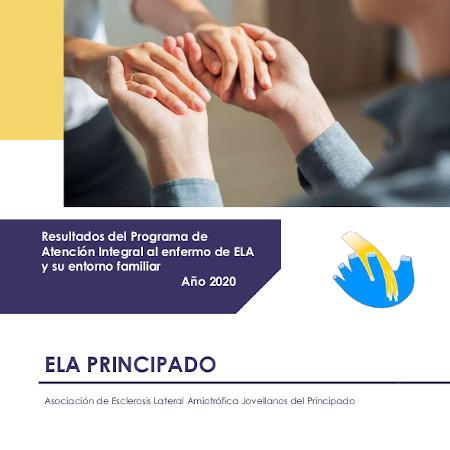 Resultados del programa de atención integral al enfermo de ELA y su entorno familiar. Año 2020