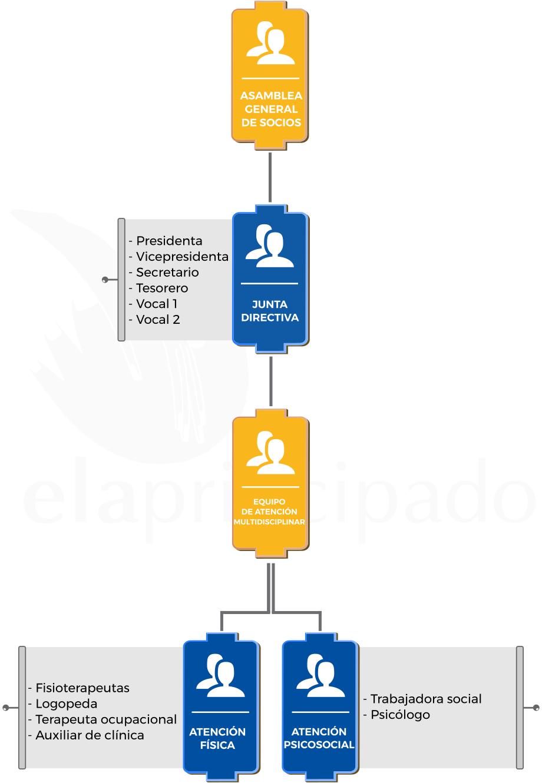 Organigrama de ELA Asturias