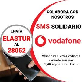 Colabora con nosotros enviando sms ELASTUR al 28052