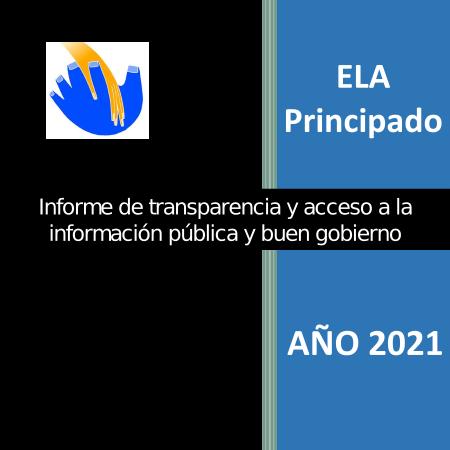 Portada Informe transparencia 2021